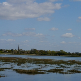 View to Chichester cathedral
